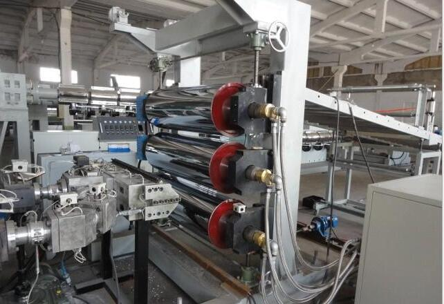 PP/PE/PS multi-layer coextruding sheet production line