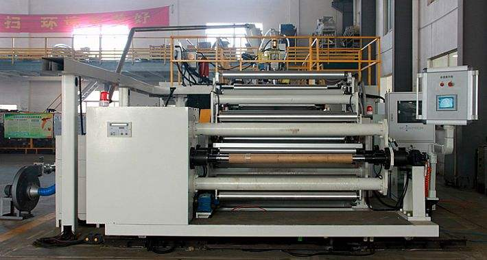 Single layer/multi-layer co-extrusional film production line